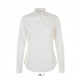 Жіноча сорочка в горошок SOL'S BECKER WOMEN