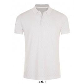 Мужская рубашка поло в горошек SOL'S BRANDY MEN