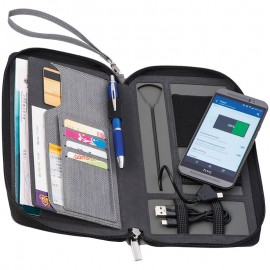 Бумажник-кошелёк и power bank ALMERIA