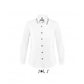 Приталенная рубашка SOL'S BAXTER WOMEN