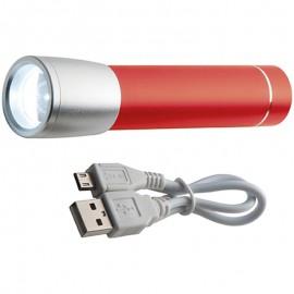 Power bank с фонариком DUBAI