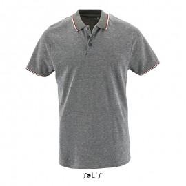 Мужская меланжевая рубашка поло PANAME MEN