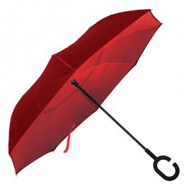 Зонт-трость LINE ART WONDER, обратное сложение, механический