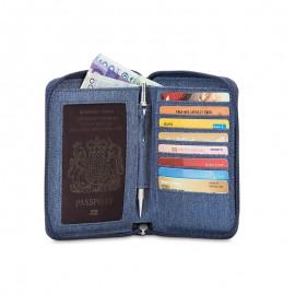 """Паспорт кейс-кошелек """"антивор"""" RFIDsafe LX150"""