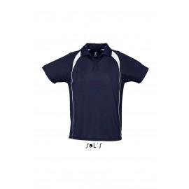 Двухцветная рубашка поло SOL'S PALLADIUM