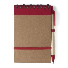 Блокнот с ручкой с логотипом