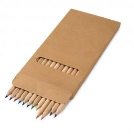 CROCO. Коробка с 12 цветными карандашами