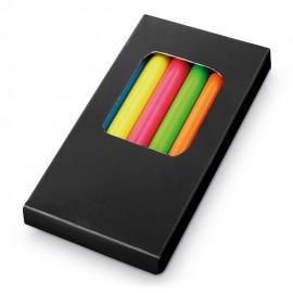 MEMLING. Коробка с 6 цветными карандашами