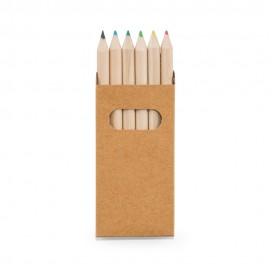 BIRD. Коробка с 6 цветными карандашами