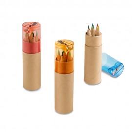 ROLS. Коробка с 6 цветными карандашами