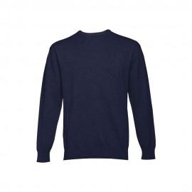 MILAN RN. Пуловер с закругленным вырезом горла для мужчин