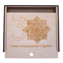Гравірування логотипу на подарункових наборах