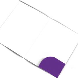 Папка с вклеенным карманом
