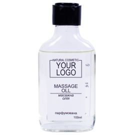 Брендована масажна олія з логотипом