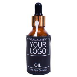 Брендоване масло для бороди з логотипом