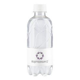 Вода з логотипом