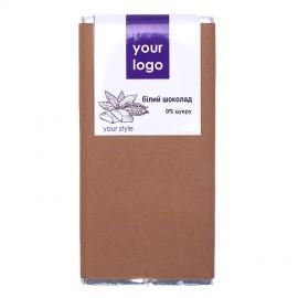 Белый шоколад с логотипом