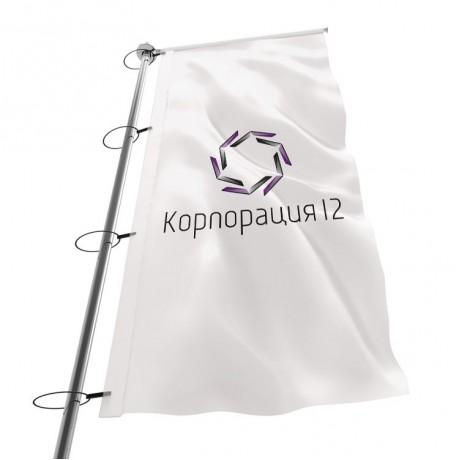 флаги уличные с логотипом киев