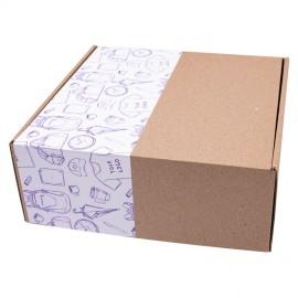 Наклейки на подарункові набори з логотипом