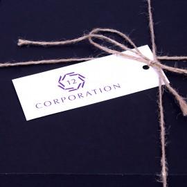 Бірки на подарункові набори з логотипом