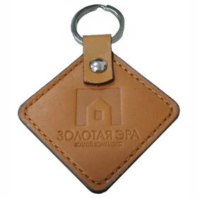 кожаные брелки с логотипом оптом