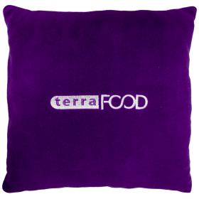 подушки с логотипом оптом