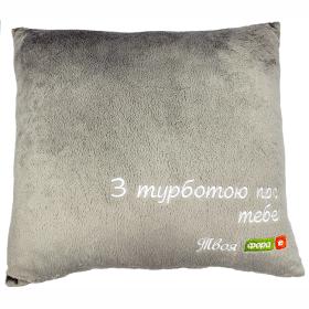 подушки с нанесением логотипа на заказ