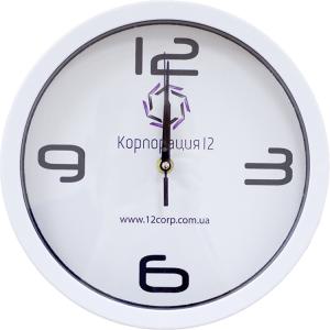 заказать настенные часы с логотипом киев