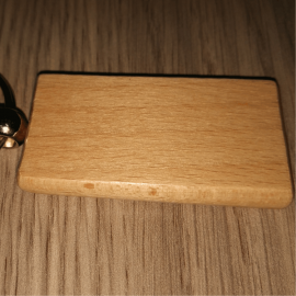Брелок деревянный арт. 7806